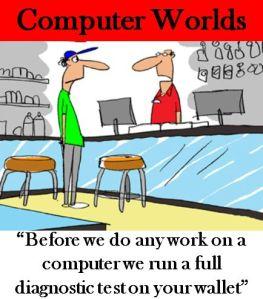 PC repair costs